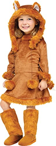 Morris Costumes Sweet Fox Toddler 3-4T