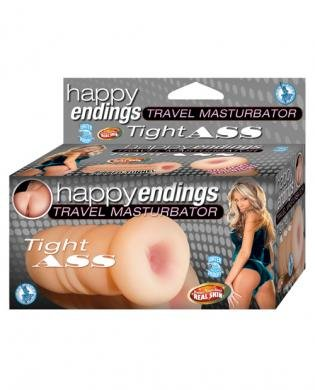 Happy ending travel masturbator tight ass - flesh (Package Of 3) durex love byt tt
