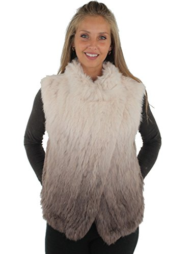 Oakwood Da Donna Gilet in pelliccia Ombre di dovere Taupe S