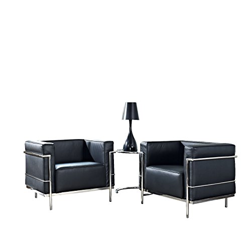 Enjoyable Sale Charles Grande 3 Piece Sofa Set In Black Find Discount Pdpeps Interior Chair Design Pdpepsorg