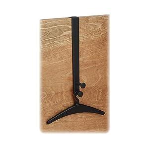 Free-Standing 4-Hook Wood Coat Rack Finish: Walnut