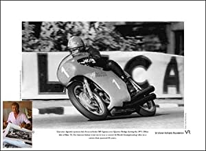 Giacomo Agostini signed limited edition print by Spirit of Sport