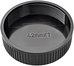 Everydaysource 42mm Camera Rear Lens Cover Cap Black
