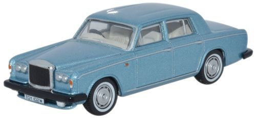 Oxford Bentley T2 Berlina Blu Caraibi In Scala 1:76 Oxford 76BT2001