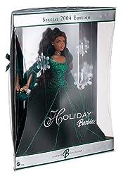 Holiday 2004 Barbie Ethnic Green Velvet Dress