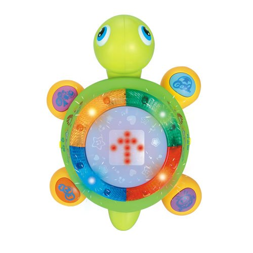 Fajiabao Children Colorful And Instructive Little Turtle Musical Toy Early Childhood Creeping Toys