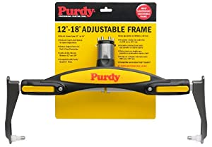 Purdy 753018 Adjustable Paint Roller Frame, 12-Inch to 18-Inch