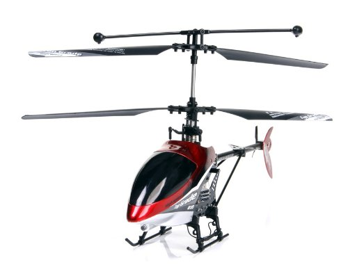 JF 810 4 Channel Digital Proportional Metal R/C Coaxial Helicopter with Built-in Gyro Light Effect