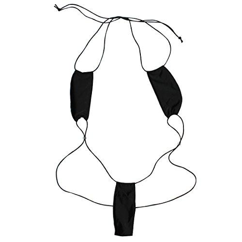 EFE Sexy Dessous Micro Bikini Teddy Badeanzug Mini Body String Monokini Einheitsgröße
