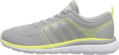 Adidas NEO Women's X Lite TM W Lace Up Shoe, Clear Onix/Matte Silver/Frozen Yellow, 8.5 M US