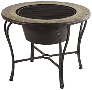 Amazon Alfresco Home Notre Dame Mosaic Fire Pit and