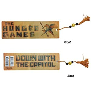 Hunger Games 'Down With The Capitol' Bookmark