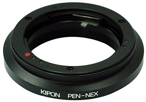KIPON マウント変換アダプター PEN-NEX オリンパスPEN Fマウントレンズ - ソニー NEX/α.Eマウントボディ用 013526