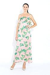 Naomi Code Women Frilly Maxi Dress