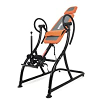 Emer Premium Padded Stationary Gravity Inversion Table for Back Therapy Exercise Fitness INVR-06C-ORG