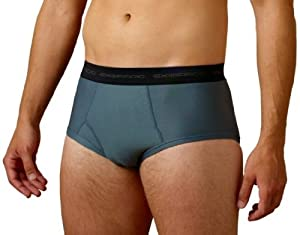 ExOfficio Men's Give-N-Go Brief,Charcoal,Large