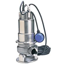Honda WSP50 Submersible Trash Pump, Side Discharge, 1/2hp 115V, 2""