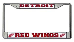 NHL Detroit Red Wings Chrome Frame
