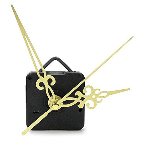 Suppion Hands Diy Quartz Wall Clock Movement Mechanism Replacement Parts Kit (Gold) front-634964