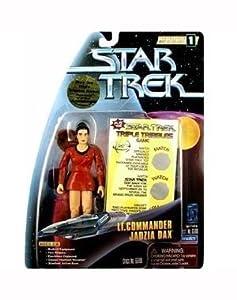 "LT. COMMANDER JADZIA DAX Star Trek: Deep Space Nine Warp Factor Series 1 Action Figure from the Episode ""Trials and Tribble-ations"""