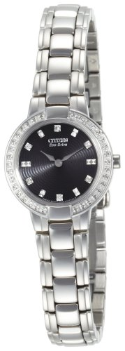 Citizen Women's Eco-Drive Stainless Steel Watch #EW9720-59E