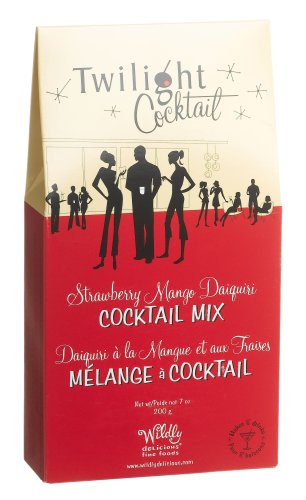 Wildly Delicious Strawberry Mango Daiquiri Cocktail Mix, 7-Ounce Boxes (Pack of 4)