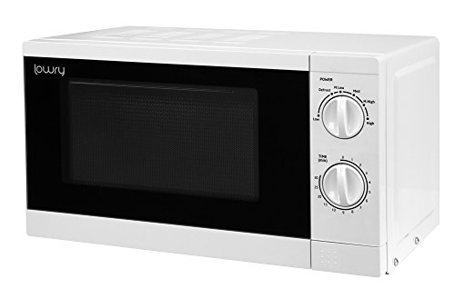 Lowry LMM1725 Solo Manual Microwave, 17 liters, White
