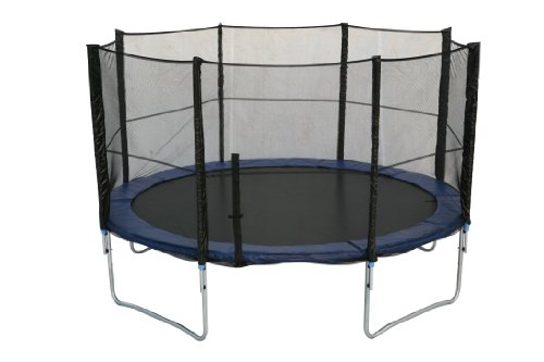 Ideale Trampolin  365 cm mit Sicherheitsnetz, 12 Fu