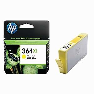 .com: HP 364XL Tintenpatronen gelb mit HP Vivera Tinten für Fotos