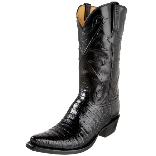 Lucchese Classics Men's GB9276 5/3 Western Boot,Black,8.5 D(M)US