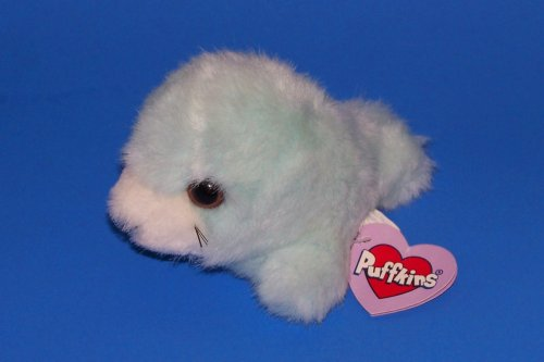 Puffkins: Slick the Seal - Buy Puffkins: Slick the Seal - Purchase Puffkins: Slick the Seal (Puffkins, Toys & Games,Categories,Stuffed Animals & Toys,Animals)
