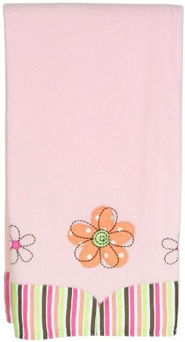 Sumersault Megan Blanket, Peach (Discontinued by Manufacturer)