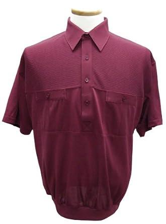 2 pocket solid banded bottom polo shirt at Amazon Men's