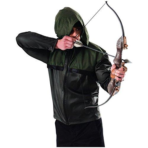 [GSG Arrows Bow & Arrow Set Costume Accessory Set Adult Mens DC Comics Halloween] (Cabaret Costumes For Men)