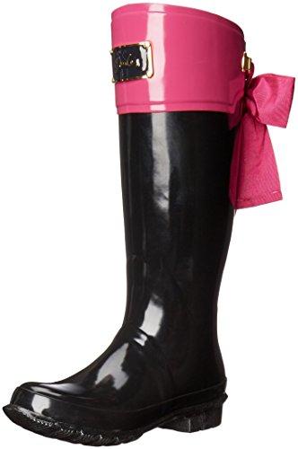 Joules Women's Evedon Rain Boot, Dark Pink, 7 M US (Women Rain Boots Pink compare prices)