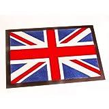 Fußmatte Schmutzfangmatte Union Jack blau rot weiß 40x60 cm | 101014