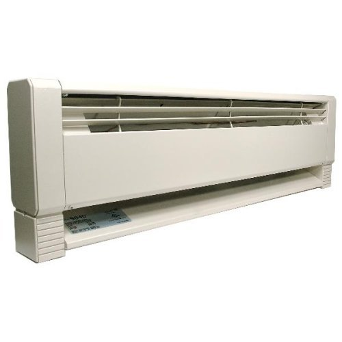 Marley Hbb1254 Qmark Electric/Hydronic Baseboard Heater The Element Design Delivers All Available Heat To The Room Utilizing A Strong Convection Flow Gentle Heat Keeps Radiating Even After The Thermostat Turns Off Because Of The Element'S Heat Retention Q