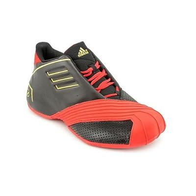Adidas Tmac1 Mens Size 8 Black Basketball Shoes
