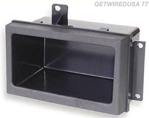 GETWIREDUSA #77. 88 to 94 TRUCK POCKET RADIO DASH KIT CAR STEREO STORAGE BIN CUBBY for GMC CHEVY PICKUP GMP333 GM1518 88-00-3301 CREW CAB DUALLY BLAZER SUBURBAN YUKON (95 Chevy Truck Dash compare prices)