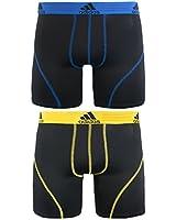 adidas Men's Sport Performance Climalite Boxer Brief Underwear (2-Pack)