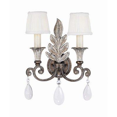 Savoy House Europe 9-3010-2-8 Lumière Applique 2 Ampoules 60 W E14