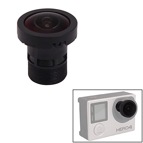 holaca lens replacement 150 degrees wide angle lens for gopro hero 3 3 plus 4 ebay. Black Bedroom Furniture Sets. Home Design Ideas