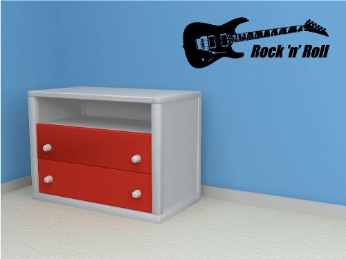 Electric Guitar Personalized - Vinyl Wall Art Decal Stickers Decor Graphics
