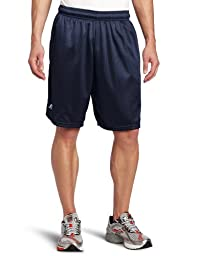 Russell Athletic Men\'s Mesh Pocket Short, Navy, Medium