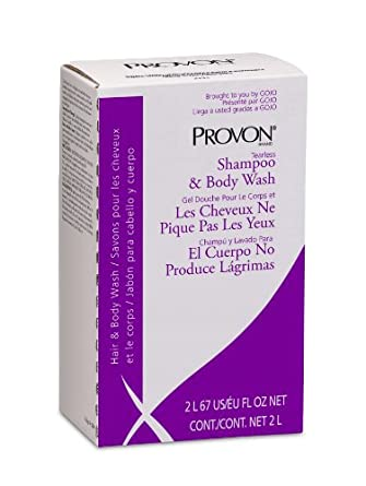 PROVON 2234-04 Tearless Shampoo and Body Wash, 2000 mL NXT Maximum Capacity Refill (Case of 4)
