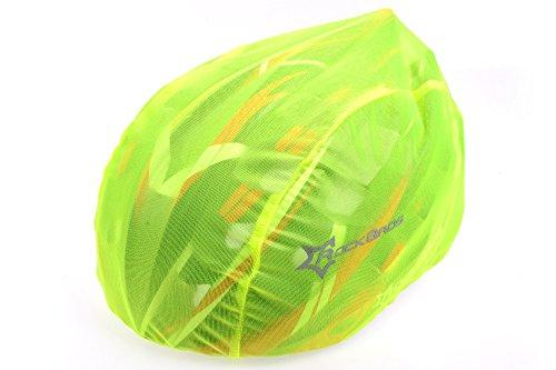 RockBros Antivento A prova di polvere Pioggia Copertura di Caschetti MTB (Verde)