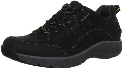 clarks-womens-wave-trek-sneaker-black-leather-w-yellow-detail-5-m-us