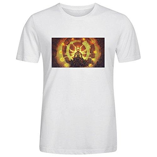 Zenyatta-Tetraktys-Overwatch-T-shirt-col-rond-pour-hommes
