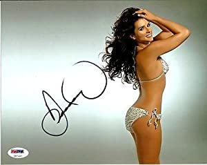 Buy Autographed Danica Patrick Photograph - SEXY SI SWIMSUIT GO DADDY 8x10 COA - PSA DNA Certified - Autographed NASCAR... by Sports Memorabilia