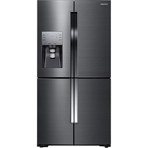 Samsung RF23J9011SG 22.5 Cu. Ft. Black Stainless Steel Counter Depth French Door Refrigerator - Energy Star (Black Counter Depth Refrigerator compare prices)